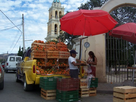 Naranjas in Puebla, Mexico