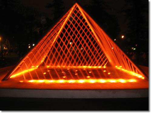 Pirámide de Agua