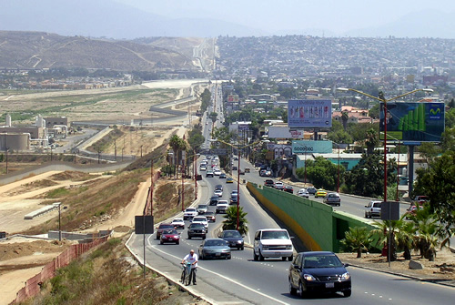 California - Tijuana Border